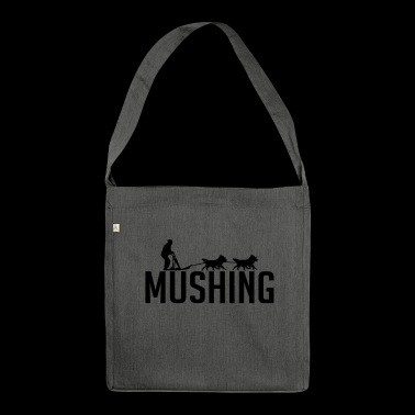 MUSHING Hundesport - Schultertasche aus Recycling-Material