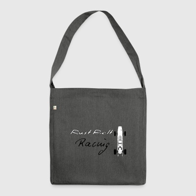 Retro Racing - Schultertasche aus Recycling-Material