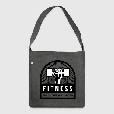 Fitness - Schultertasche aus Recycling-Material