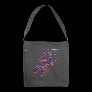 Lightning Bolt - Shoulder Bag made from recycled material