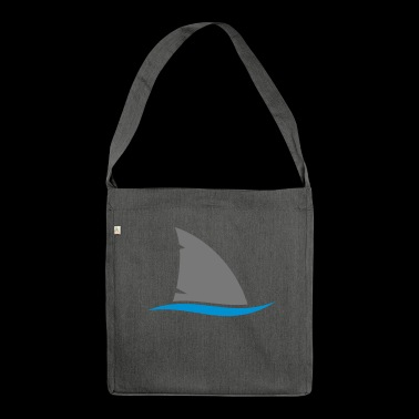 Shark fin - Shoulder Bag made from recycled material