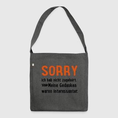 2541614 15695779 sorry - Schultertasche aus Recycling-Material