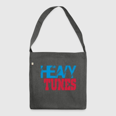 heavy tunes - Shoulder Bag made from recycled material