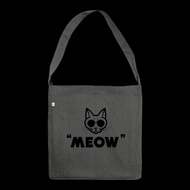 Meow Meow - Schultertasche aus Recycling-Material