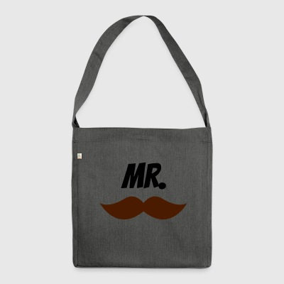 Mr. - Schultertasche aus Recycling-Material