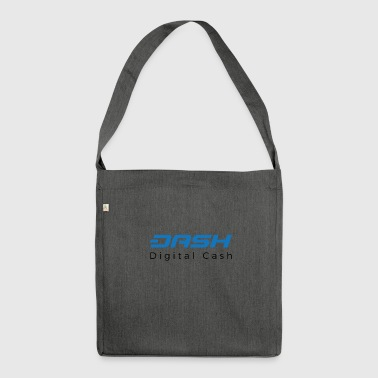 Dash Coin Logo 2 - Shoulder Bag made from recycled material