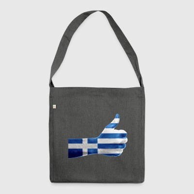GREECE NEW COLLECTION - Shoulder Bag made from recycled material