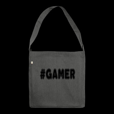 gamer - Shoulder Bag made from recycled material