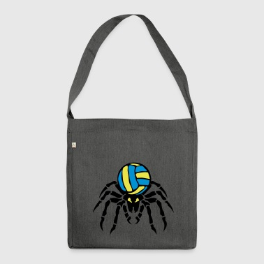 volleyball waterpolo araignee spider spi - Sac bandoulière 100 % recyclé