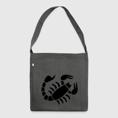 Scorpio (zodiac sign) - Shoulder Bag made from recycled material