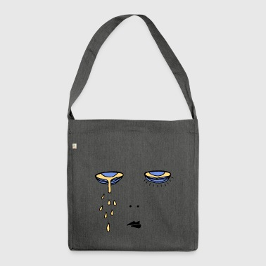 dark circles - Shoulder Bag made from recycled material