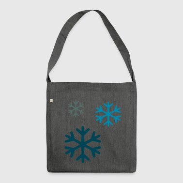 snow - Shoulder Bag made from recycled material