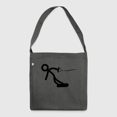 Wrestling - Shoulder Bag made from recycled material