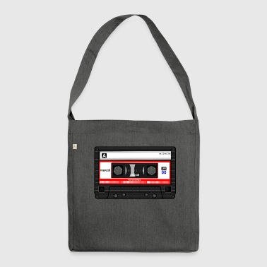 cassette retrò - Borsa in materiale riciclato