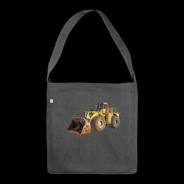 wheel loaders - Shoulder Bag made from recycled material