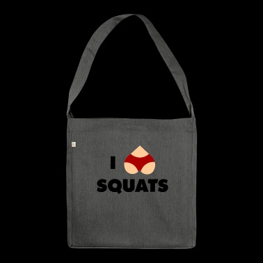 squats - Shoulder Bag made from recycled material