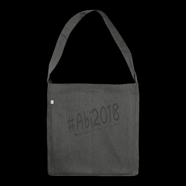 Abi 2018 - Schultertasche aus Recycling-Material