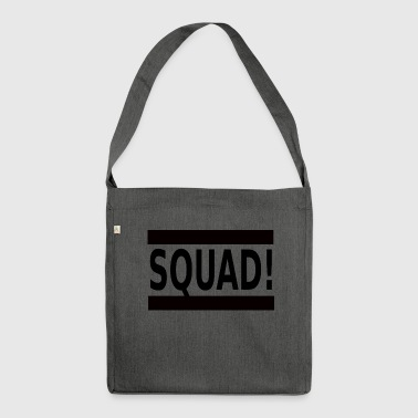 SQUAD! - Schultertasche aus Recycling-Material