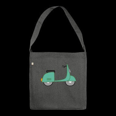 Moped - Schultertasche aus Recycling-Material