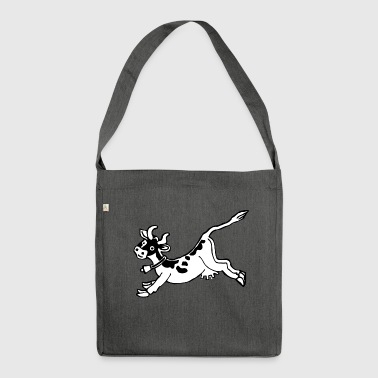 high jump jumping jump jumping ballerina13 - Shoulder Bag made from recycled material