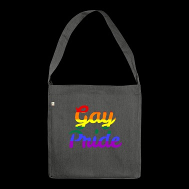 Gay Pride - Schultertasche aus Recycling-Material