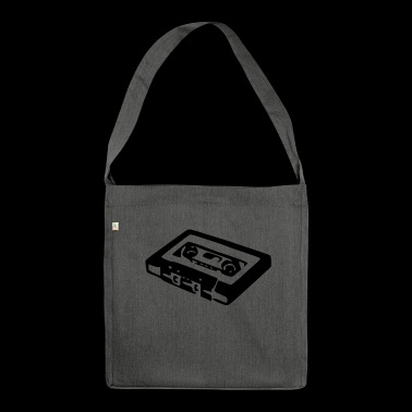 Audio Cassette - Shoulder Bag made from recycled material