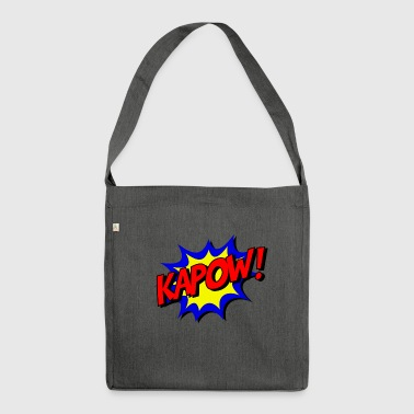 kapow - Schultertasche aus Recycling-Material