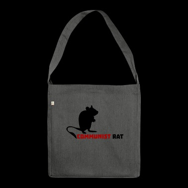 Communist Rat - Shoulder Bag made from recycled material
