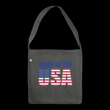 Made in USA - Borsa in materiale riciclato
