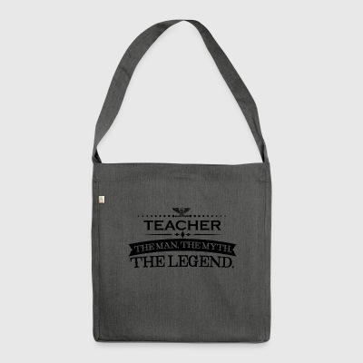 Man myth legend gift TEACHER - Shoulder Bag made from recycled material