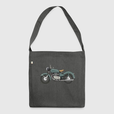 motorcycle - Shoulder Bag made from recycled material