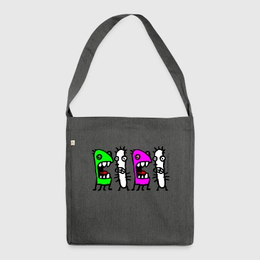 Cacti n Friends - Shoulder Bag made from recycled material