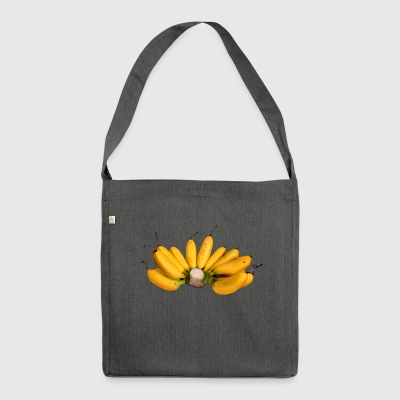 banana banana veggie food fruits fruit fruits - Shoulder Bag made from recycled material