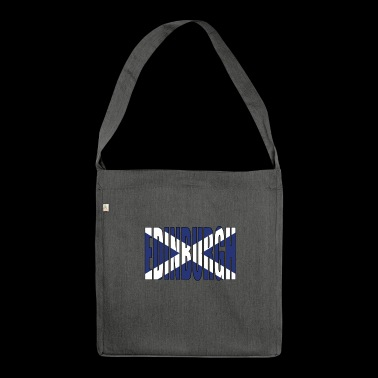 EDINBURGH Scotland - Shoulder Bag made from recycled material