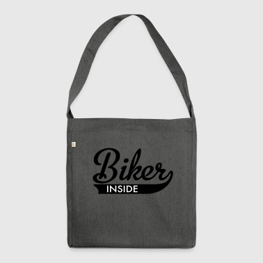 2541614 15790802 biker - Shoulder Bag made from recycled material