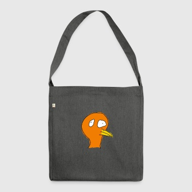 stupid bird - Shoulder Bag made from recycled material