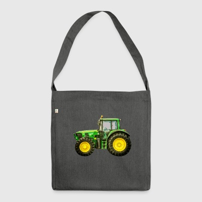 tractor - Shoulder Bag made from recycled material