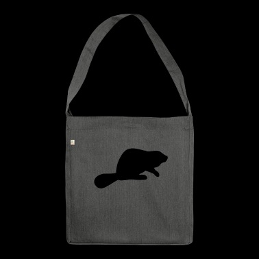 Beaver Silhouette - Shoulder Bag made from recycled material