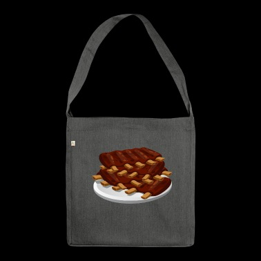 Spare Ribs - Schultertasche aus Recycling-Material