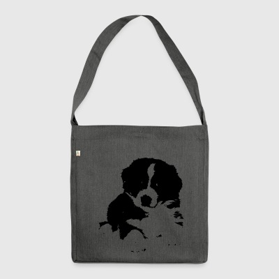 Dog 2 - Shoulder Bag made from recycled material