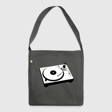 Turntable Mischpult - Schultertasche aus Recycling-Material