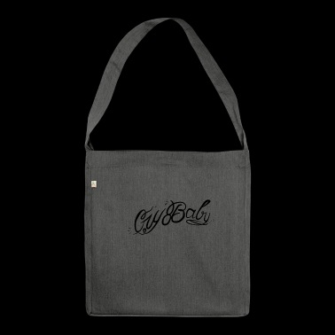 CRY BABY design - Shoulder Bag made from recycled material