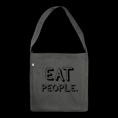 Eat People - Schultertasche aus Recycling-Material