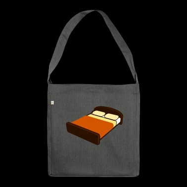 bed - Shoulder Bag made from recycled material