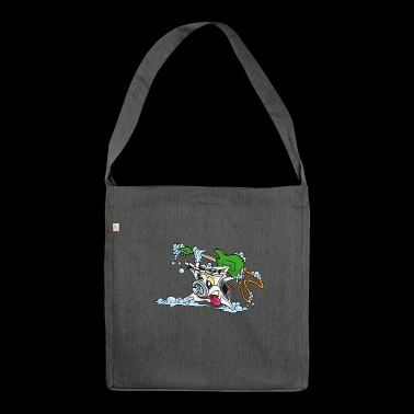 Wicked Washing Machine Washing Machine - Shoulder Bag made from recycled material