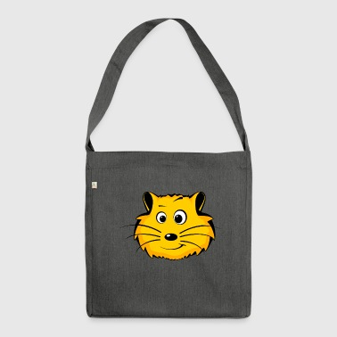 hamster - Shoulder Bag made from recycled material