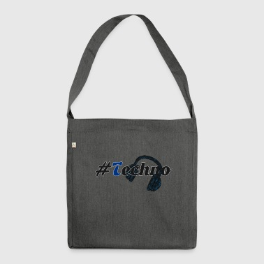 #Techno - Borsa in materiale riciclato