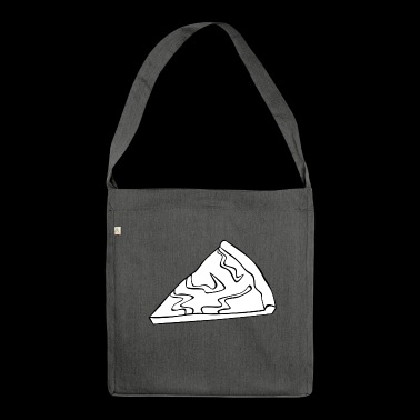 pizza pizzeria food food restaurant11 - Shoulder Bag made from recycled material