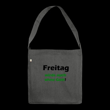 Freitag - Schultertasche aus Recycling-Material