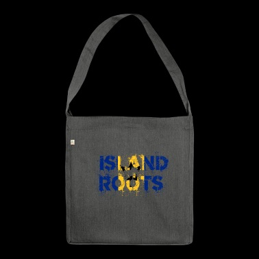 Barbados Roots - Shoulder Bag made from recycled material